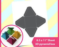 pyramid box etsy
