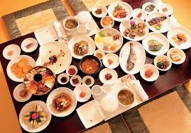 table full of food traditional korean food