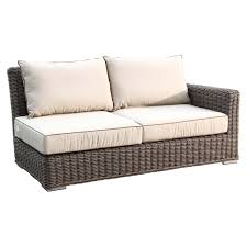 Wicker Sectional Patio Furniture - sunset west coronado 6 piece wicker sectional sofa set