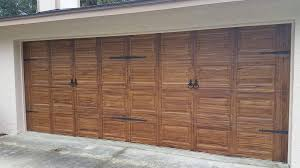 clopay wood garage doors faux wood garage door archives deluxe systems clopay doors