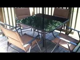 rite aid patio set youtube