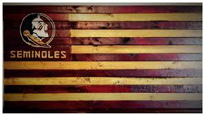 florida wood florida state seminoles flag of florida