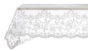 Blanc Mariclo Shop On Line by Vinyl Lace Tablecloth Silver By Blanc Mariclo Ideal For A Shabby