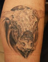 45 bull tattoos with regal and dominant meanings tattoos win