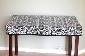 stay put table covers a sewn fitted stay put table cloth for a child s table project by