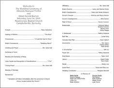 wedding program templates free inexpensive wedding programs buy card stock at hobby lobby
