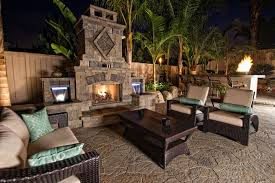 Belgard Brighton Fireplace by San Diego Pavers Backyards Hardscape Gallery By Western Pavers