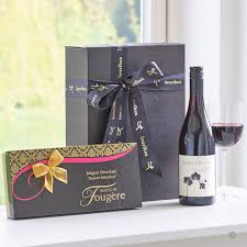 wine delivery gift wine dessert chocolates gift box delivery isle of wight