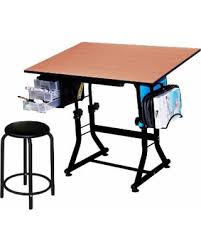 Drafting Craft Table Amazing Deal On Offex Black Drafting And Hobby Craft