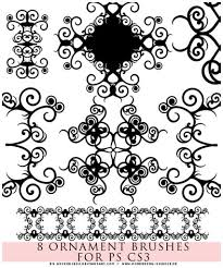 featured photoshop ornament brushes abr free