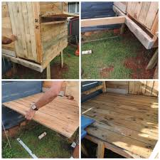 recycled pallet backyard cubby the empowered educator