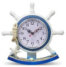 themed wall clock coastal wall clocks beachfront decor