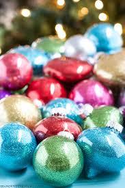 diy glitter ornaments best glue to use a pumpkin and a princess