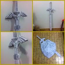 Master Sword Papercraft - of master sword tp by kurosakimaikon on deviantart