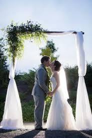 Wedding Arches Tasmania This Enchanting Outdoor Night Wedding Ceremony Lit The Night An