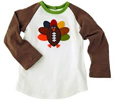 mud pie thanksgiving football turkey t shirt by mud pie
