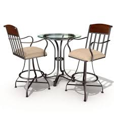 Used Restaurant Tables And Chairs Restaurant Table And Chair Set 3d Model Cgtrader
