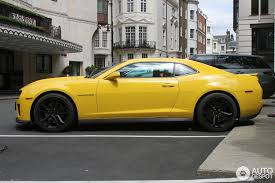 yellow camaro zl1 chevrolet camaro zl1 2 june 2014 autogespot
