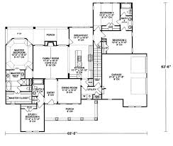Jack And Jill Bedroom Floor Plans by Traditional Style House Plan 4 Beds 3 00 Baths 2040 Sq Ft Plan