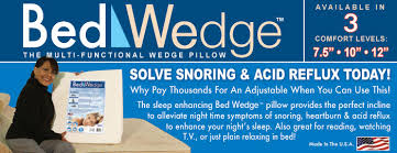 bed wedge the multi functional wedge pillow