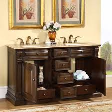 60 In Bathroom Vanity Double Sink 60 U201d Perfecta Pa 177 Bathroom Vanity Double Sink Cabinet American