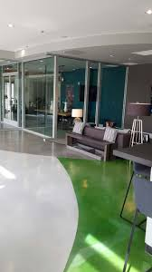 flooring installation for trendy art deco apartment complex