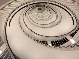 free images light structure stair round interior
