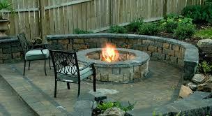 Backyard Paver Ideas Patio Ideas Patio Ideas With Gas Fire Pit Paver Patio Ideas With