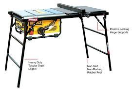 dewalt table saw folding stand alluring folding table saw stand folding table saw stand
