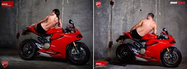 ducati motorcycle photos male pinup models take center stage in ducati motorcycle