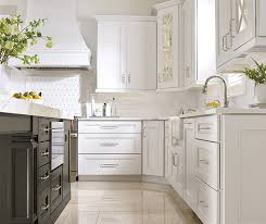 grey and white kitchen cabinets white kitchen cabinets with a grey island masterbrand