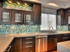 contemporary kitchen backsplashes 30 trendiest kitchen backsplash materials hgtv