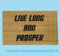 Long Doormats Doormat Star Trek U0026 Guns N U0027 Roses Welcome To The Jungle