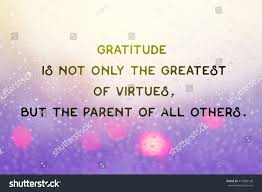 quote on gratitude inspiration motivational life quote on background stock photo
