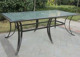 Patio Furniture Glass Table Nice Glass Patio Table Patio Furniture With Glass Top