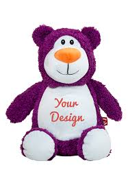 Engraved Teddy Bears Personalized Purple Teddy Bear Personalized Teddy Bears Cubbies