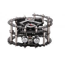 mechanical desk clock mechanical gear desk clock stainless hy g040 quiapo photo supplier