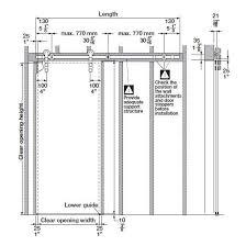 Barn Door Hardware Installation Hafele Sliding Door Hardware Antra I Sliding Door Hardware Set