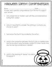 reading comprehension passages and activities just print