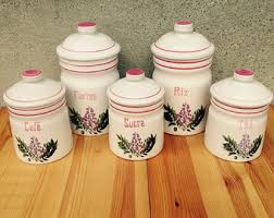pink kitchen canisters stoneware kitchen canisters canister set kitchen storage