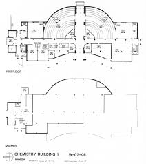 Building Floor Plan Chemistry Building Au
