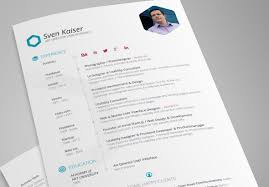 resume design templates indesign resume 30 best free resume