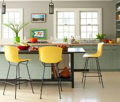 Yellow Bar Table Minneapolis Counter Height Chairs Kitchen Contemporary With Glass