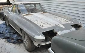 1963 corvette project car for sale 1963 chevrolet corvette roadster project