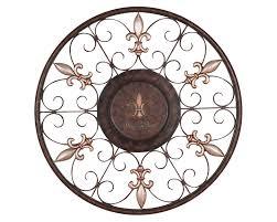 scroll design iron wall art
