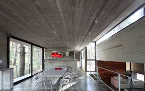 a concrete house with many levels by bak arquitectos design milk
