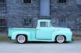 Vintage Ford Truck Steel Wheels - a revived 1956 ford f100 bringing class to the roads of vermont