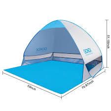 Baby Beach Tent Walmart Gonex Lightweight Beach Shade Tent Sun Shelter Automatic Pop Up