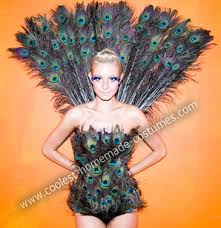 Womens Peacock Halloween Costume Linda U0027s Awesome Homemade Halloween Peacock Costume Homemade