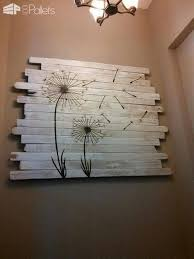 wondrous inspration wood pallet wall decor with best 25 ideas